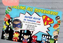 Superhero Party / by Cayla Stull