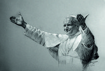 """⛪ """"Totus Tuus ❀ Mary ❀ Totus Tuus"""" / Saint John Paul II (Latin: Ioannes Paulus II), sometimes called John Paul the Great, born Karol Józef Wojtyła (Polish,  18 May 1920 – 2 April 2005), was Pope from 16 October 1978 to his death in 2005. He was the second longest-serving pope in history and, as a Pole, the first non-Italian since Pope Adrian VI, who died in 1523.  / by 🐦✨ Irena Ka ✨"""