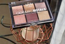 Cosmic Metals de NYX / #maquillage #makeup #eyeshadow