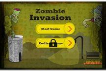 Zombie Invasion app