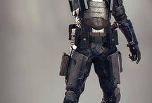 scifi armour