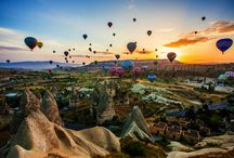 Hot air balloons-Turkey