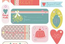 Christmas tags / by Christy Bishop