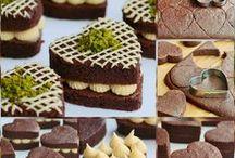 kakaolu kalp pasta