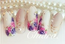 manicures flowers