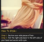 Hair Inspiration / Cool ideas  / by Teresa Mandell