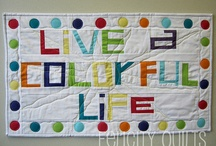 Word Quilts / by Tina