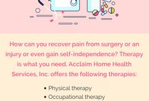 Acclaim Home Health Services / Acclaim Home Health Services, Inc. is an agency of health care professionals. We collaborate in helping you achieve or maintain a healthy life. We believe that your home is the best location to approach the ills of the body and keep the comfort of the spirit.