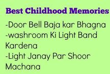 Childhood memories..