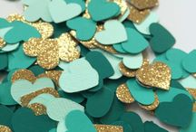 Turquoise, Tiffany Blue & Gold Party