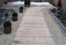 pad van steenschotten