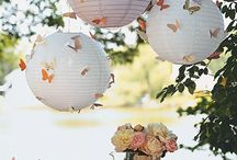 Paper lantern decorating