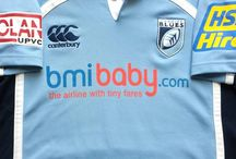 Classic Cardiff Blues Rugby Shirts / Vintage authentic Cardiff Blues rugby shirts from the past 30 years. Legendary season and memorable moments of yesteryear. Worldwide Shipping   Free UK Delivery