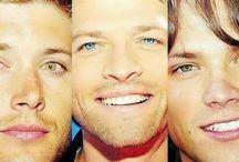 Jared, Jensen, Misha