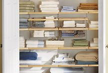 Laundry Rooms and Linen Closets / by Brianna Adams