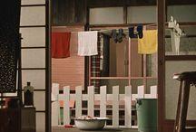 Yasuhiro Ozu movie sets