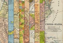 maps / by Darlene Terpening