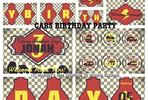 Planes/Trains/Cars Birthday Party & Free Printables