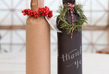 wrapped Christmas decoration