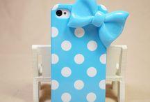 Blue phone cases