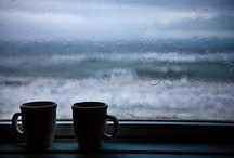 coffee & tea :) / coffee is the best thing to douse the sunrise with