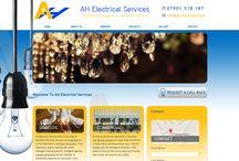 Electrical Services Website Portfolio - Toolkit Websites - Web Design Southampton / Websites in the Electrical Services Industry