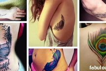 Tattoos / A tattoo is a form of body modification, made by inserting indelible ink into the dermis layer of the skin to change the pigment