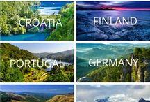 Travel Inspiration + Wanderlust / Travel inspiration, wanderlust, wanderlust inspiration, motivation to travel, inspiring travel spots, inspiring destinations, beautiful places, bucket list destinations.
