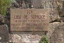 Oradour sur glane in Franch. 1945