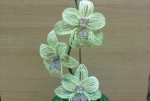 Bead flowers/Gyöngyvirágok