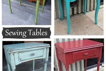 Furniture Flipping: Sewing Tables