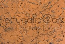 cork floor and fabric patterns, wallpapers