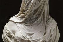 sculture velate