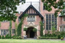 Tudor Style Homes and Interiors / by Isabella Wentworth