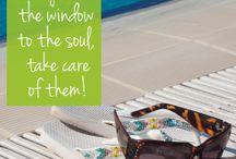 Eyes the window of soul