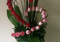 Bloemen op de vaas