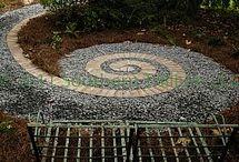 garden spirals