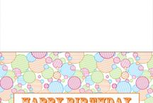 Printable Birthday Cards / This board is exclusively for printable birthday cards. There always free, so be sure to check out our site for many more where you can fully customize them! #printable #birthday #cards #free