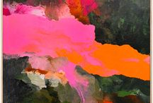 Abstract art / Celebrating colour combinations.