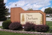 New Durham Estates / We are New Durham Township and LaPorte County's #1 family owned and operated dealership for manufactured housing. We have been in business at this Westville, Indiana location for over 40 years.  We carry only top of the line homes from several excellent manufacturers such as Hart & Harmony Homes. All are built in the Northwest Region of Indiana.  Our sales staff is professional and knowledgeable. Our delivery and setup crews are experienced and get the job done RIGHT and on TIME.    / by Tom Fath