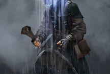 D&D Character Art