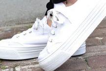 Limpeza de calçado