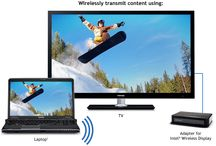 Wireless tv connection