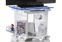 Game Station / I like to play video games so i think about a space reserve to do it. The Game Box is a modular system to create a true space useful for the video gamer. So i may put in order my console, pad, video games boxes, strategy guide and the cable ! I'll hope like you and Pin it :-)