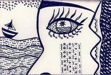 My Moleskine / My Moleskine doodles & drawings