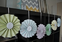 Paper decorations  / by Katie Mcloughlin