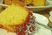 bolo de milho com goiabada