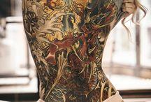 women tattoo