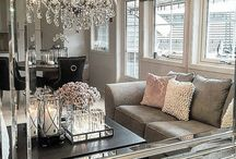 Glamour interior style