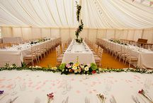 Marquees for hire / Marquee companies we work with around East Anglia